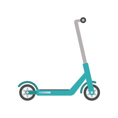 Scooter Icon on white background. Vector illustration Illustration