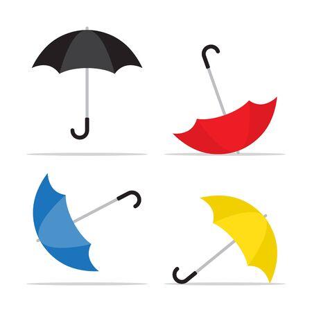 Umbrella icon. Rain protection symbol.