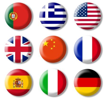 idiomas: lenguas extranjeras Foto de archivo