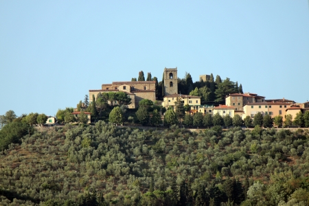 the old city of Montecatini