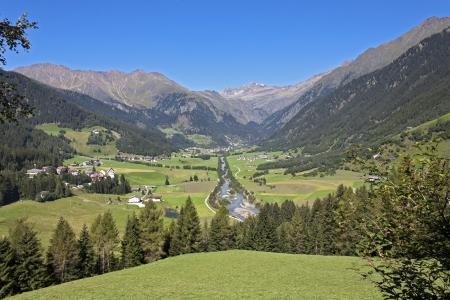 Val Ridanna - Ridnauntal  Alto Adige  版權商用圖片