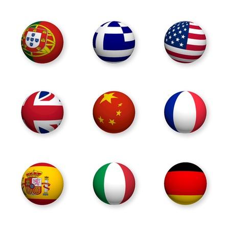 Foreign languages, symbols