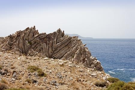 tectonics: Rock Formation of Agios Pavlos
