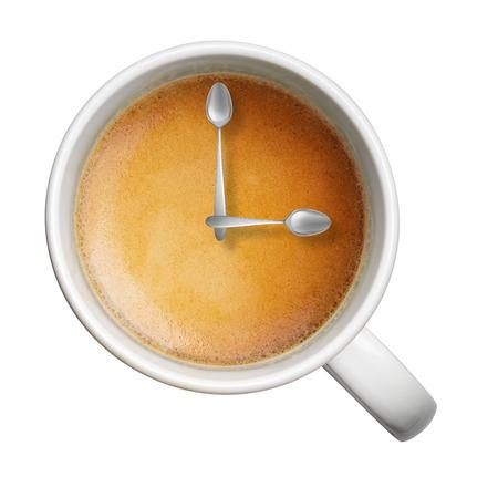 coffee hour: coffee time, coffee break