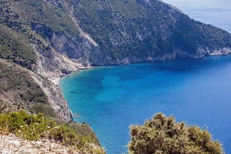 cefallonia: the picturesque bay near assos, Kefalonia, Greece Stock Photo