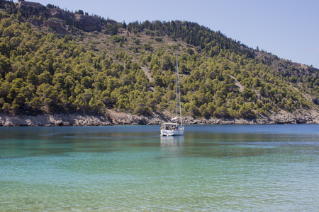 kefallonia: the picturesque bay of assos