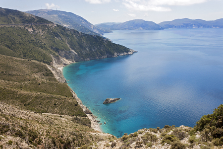 cefallonia: the picturesque bay near assos, kefalonia