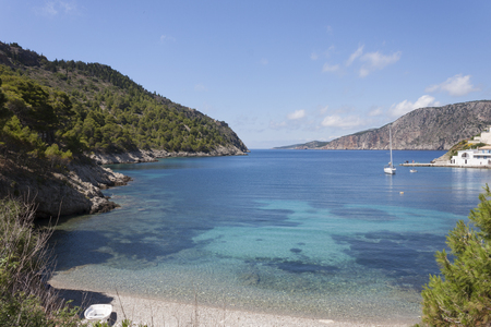 cefallonia: the picturesque bay of assos