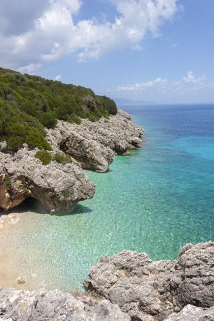 kefallonia: wonderful sea bay in Kefalonia, Ionian islands, Greece Stock Photo