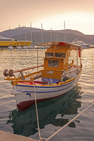 Fishing Boat at the sunset