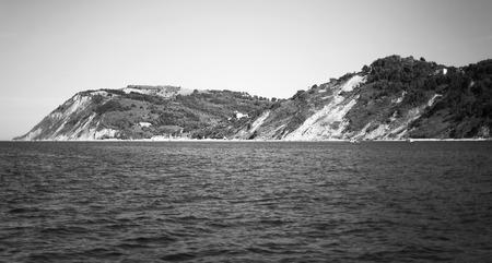 Bay of Angels, Vallugola. Beautiful view. Sea Island