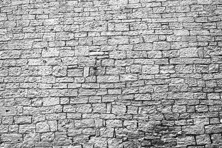 Stone wall.Castle wall. Wall tower.The background.