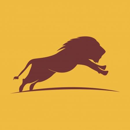 Vector illustration of lion Illustration