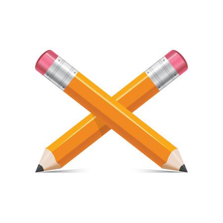 Crossed pencil icon