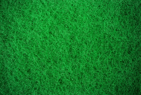 abrasive: Green abrasive sponge texture background
