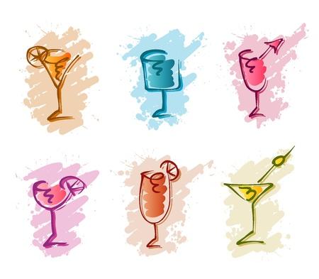 koktejl čmáranice