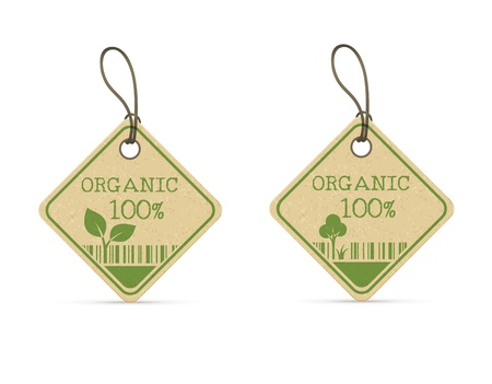 craft product: set of two eco labels