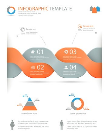 education choice: infographic options template