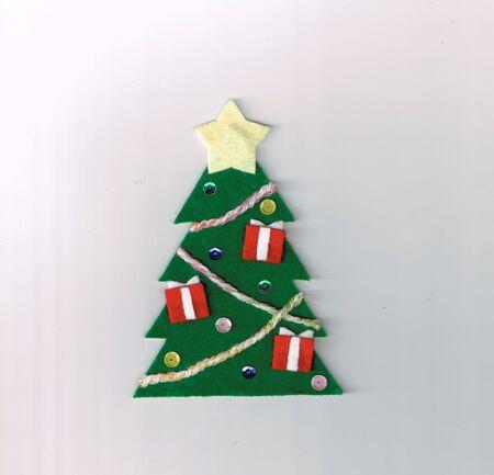 Christmas Decoration Made of Felt (Christmas Tree)