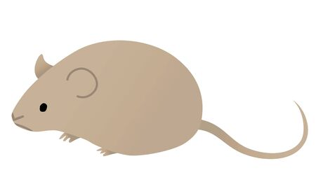 Illustration of a cute mouse