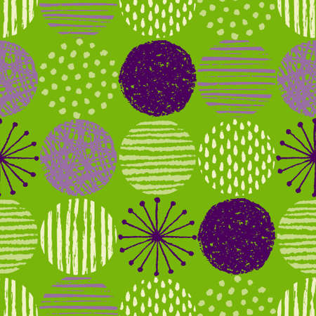 Illustration of Geometric seamless pattern (Scandinavian style design) Иллюстрация