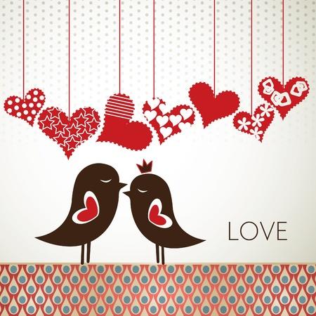 Vogels van de liefde