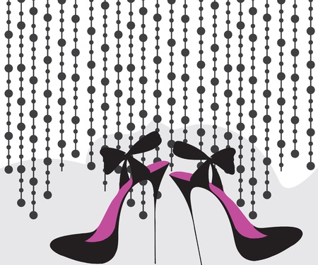 high heels: High heels Illustration