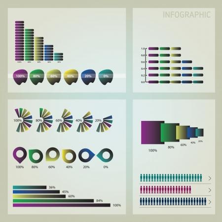 infographics icon set
