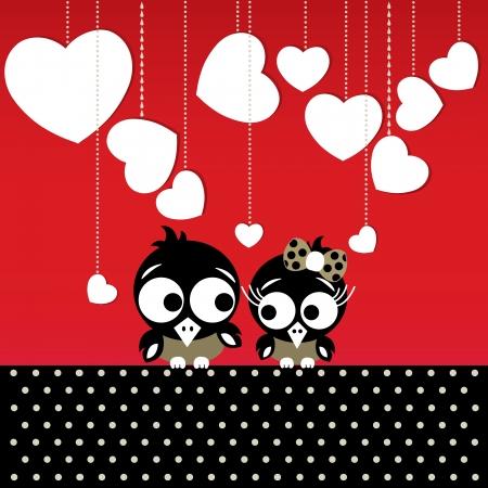 Vogels in liefde
