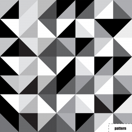 rough diamond: Black and white triangle pattern, background, texture