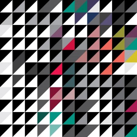Kleur patroon, achtergrond, textuur Stock Illustratie
