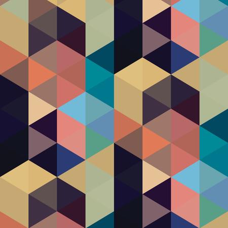 Abstracte driehoek naadloos patroon