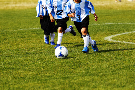 football soccer Stock Photo