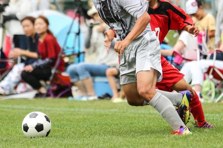 サッカーサッカー 写真素材