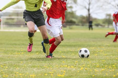 football soccer Stock Photo