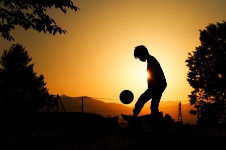small football player Фото со стока