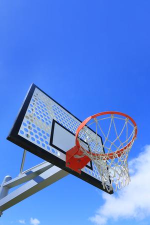 basket: basket goal Stock Photo