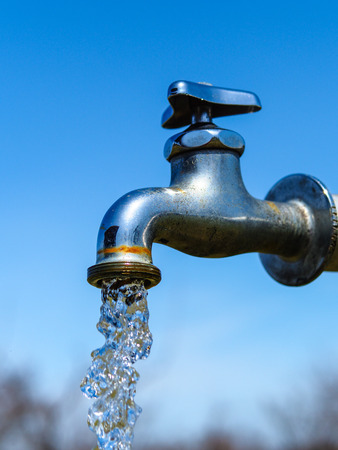 groundwater: water supply Stock Photo
