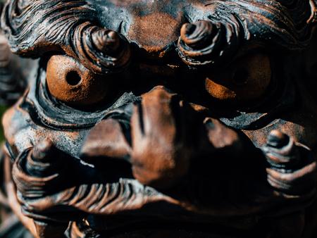 okinawa statue Фото со стока