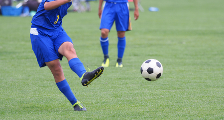football soccer Reklamní fotografie