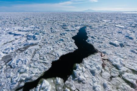 drift ice in hokkaido
