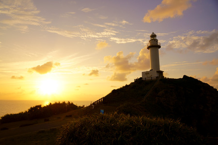 sunset in ishigaki island