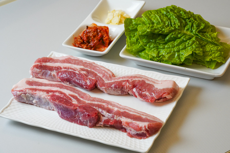 grilled meat in korea