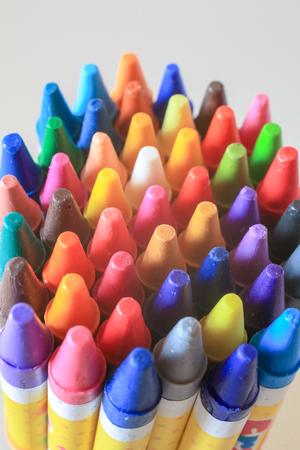 crayon in closeup shot