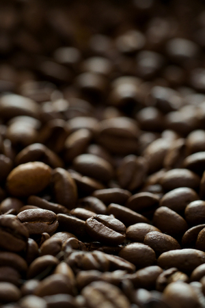 coffee beans and coffee mill 写真素材