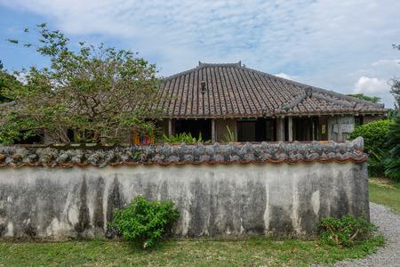 old house in ishigaki island 写真素材