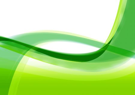 abstract background with green shapes and textures photo