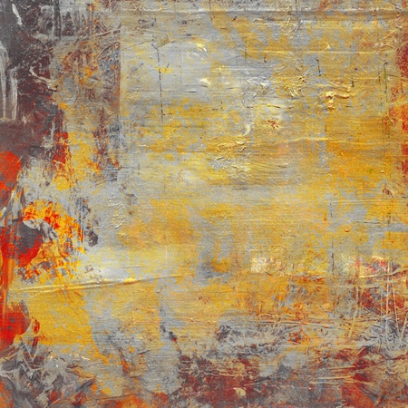 hand painted background grunge with gold color Stock fotó