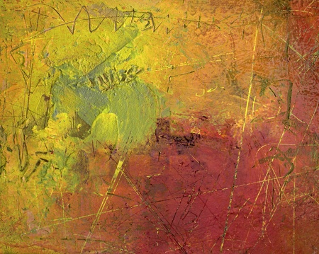 abstract art - hand painted canvas Stock Photo - 8603418