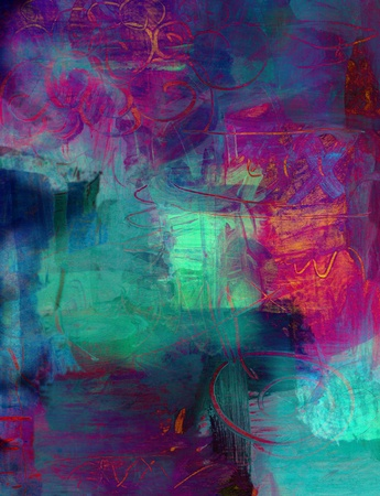 abstract art - hand painted background Stock Photo